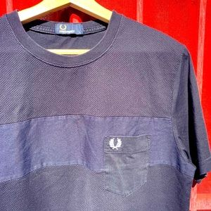FRED PERRY navy shirt